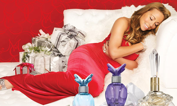 Mariah Carey Holiday Gift Guide and Frangrance