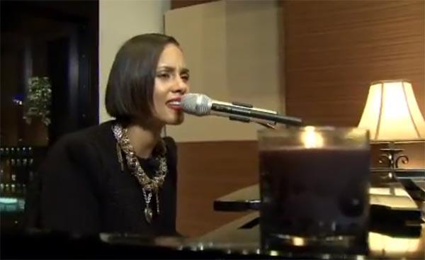 Alicia Keys Brand New Me YouTube Livestream Performance