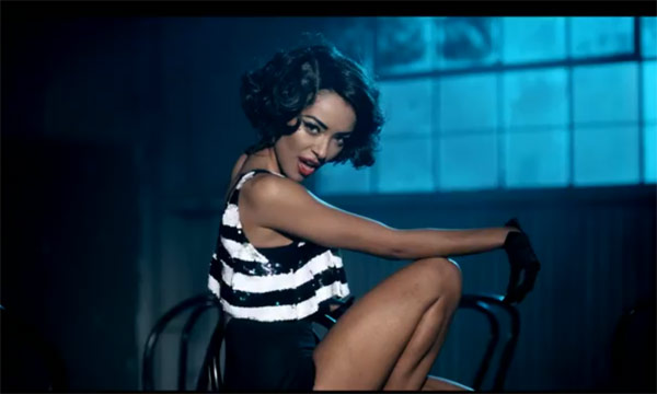 Kat Graham in the music video Wanna Say