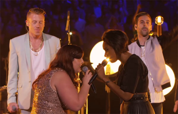 MTV VMA - Macklemore, Ryan Lewis, Mary Lambert and Jennifer Hudson (Same Love) Performance