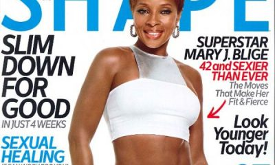 Mary J Blige Shape Magazine Cover
