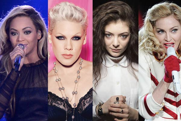 56th Grammy Awards - Beyonce, Pink, Lorde, Madonna