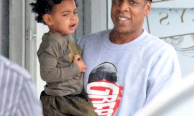 Blue Ivy with dad Jay-Z at Zoo for birthday