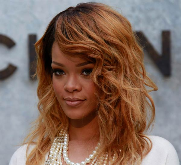 Photo of singer Rihanna