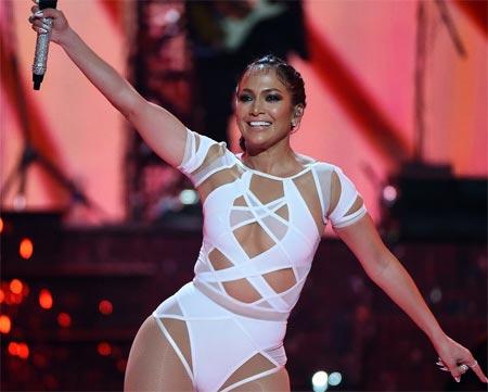 Jennifer Lopez music festival 2015