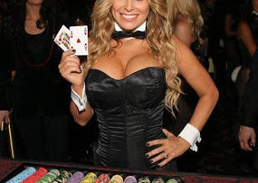 Carmen Electra playboy party