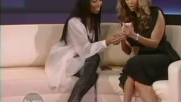 Brandy on The Tyra Banks Show