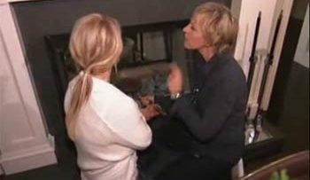 Ellen DeGeneres and Britney Spears