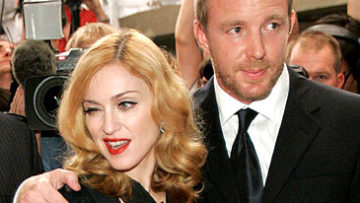 Photo of Madonna and Guy Ritchie