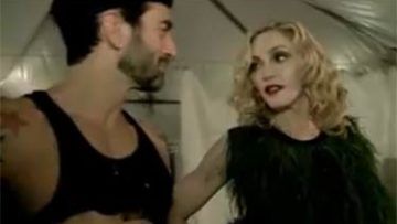 Madonna Behind The Scenes Louis Vuitton LV
