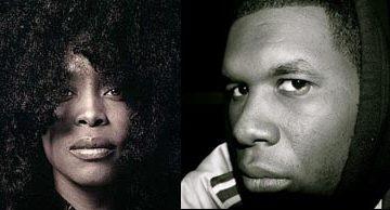 Erykah Badu and Jay Electronica