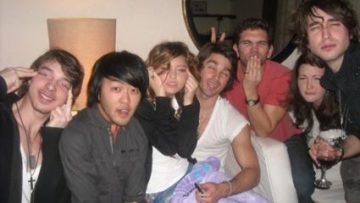 Miley Cyrus and Friends Asian Slant Eye Mock