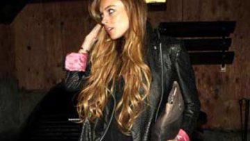 Lindsay Lohan at Villa Lounge