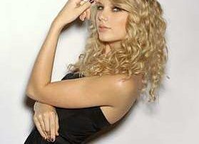 Country music star and singer Taylor Swift