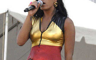 Solange Knowles Performing at San Francisco LGBT Pride Parade