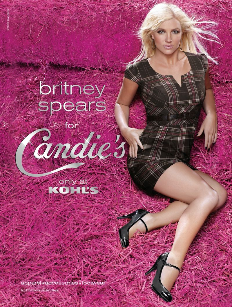 Britney Spears Candies Ad Fall/Winter Collection