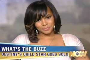 Photo of LeToya Luckett on ABC What's The Buzz