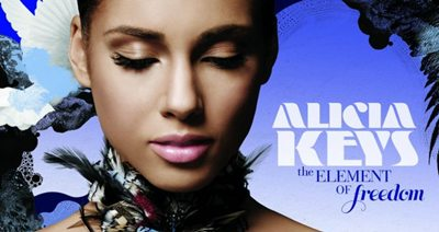 Alicia Keys Elements of Freedom album cover
