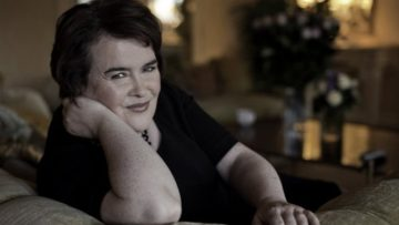 Photo of Susan Boyle in her L.A. hotel room