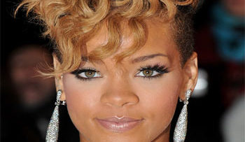 Picture of singer Rihanna
