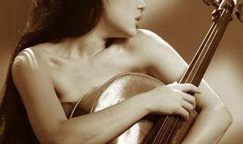 Photo of Tina Guo with Cello