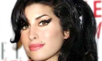 Photo of singer Amy Winehouse