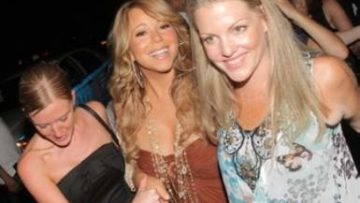 Photo of Mariah Carey at Juliet Supperclub
