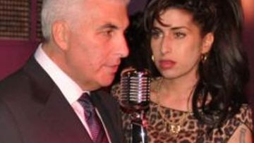 Photo of Amy Winehouse and father Mitch Winehouse