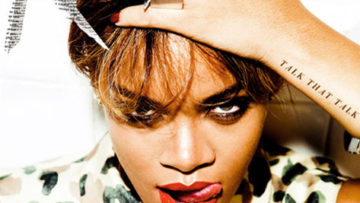 Photo – Rihanna Talk That Talk Album Cover