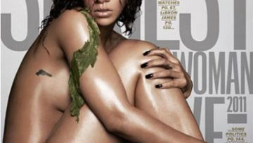 Photo – Rihanna Reveals Skin Cover of Esquire
