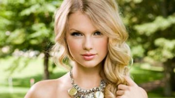 Photo of country music star Taylor Swift