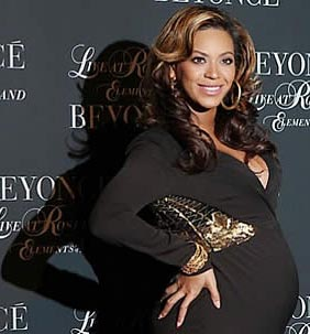 Photo of Beyonce pregnant stomach