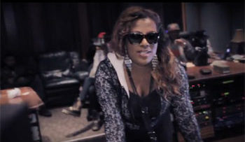 Photo of Gangsta Boo from music video Laughing At Them Haters
