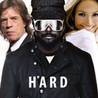 Mick Jagger, will.i.am and Jennifer Lopez THE (The Hardest Ever) music video promo
