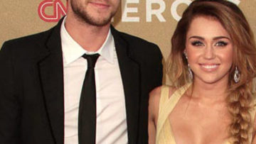 Photo of Miley Cyrus and Liam