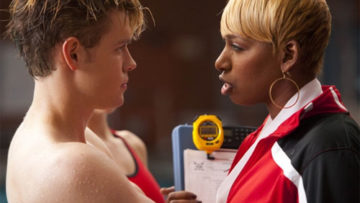 Photo of NeNe Leakes on musical tv show Glee
