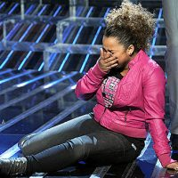 Rachel Crow meltdown on X Factor