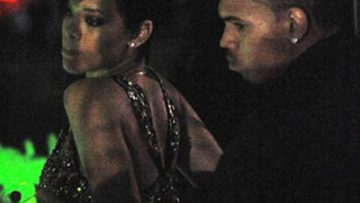 Photo of Rihanna and Chris Brown