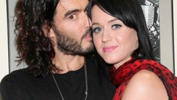 Photo of Russell Brand and Katy Perry