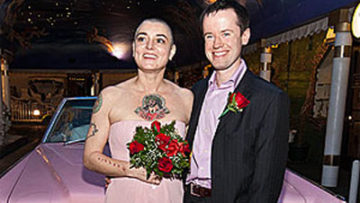 Photo of Sinead O'Connor and Barry Herridge