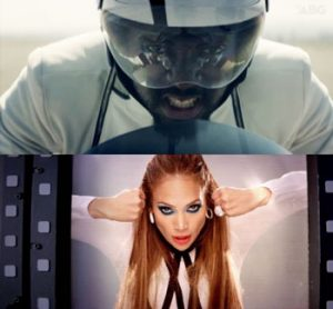 Will.i.am and Jennifer Lopez THE (The Hardest Ever) music video