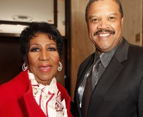 Photo of Aretha Franklin and fiance William 'Willie' Wilkerson