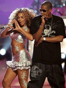 Jay-z, Beyonce and illuminati photo?
