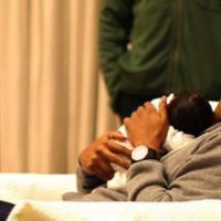 First Photo of Jay-Z holding new Baby Blue Ivy Carter