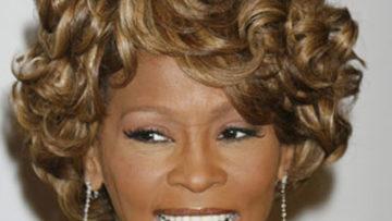 Photo of lengendary singer Whitney Houston