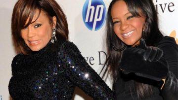 Photo – Whitney Houston and daughter Bobbi Kristina