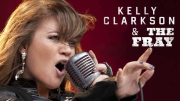 Photo – Kelly Clarkson and The Fray Tour 2012