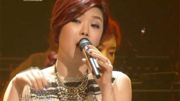 Photo – Lyn born Lee Se-jin singing Bad Girl Good Girl