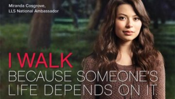 Photo – Miranda Cosgrove for Leukemia & Lymphoma Society