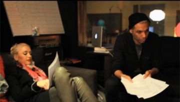 Photo – No Doubt In Studio Recording Push and Shove – Webisode
